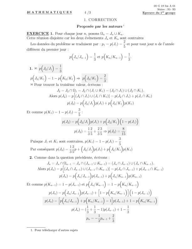primitive exponentielle exercice corrigé pdf